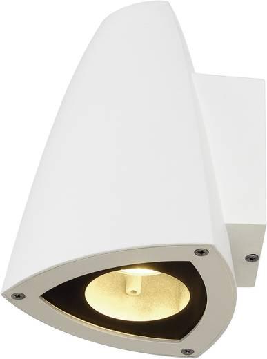 Außenwandleuchte Halogen GU10 50 W SLV Cone 231701 Weiß