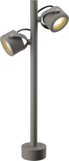 Außenstandleuchte Energiesparlampe GX53 9 W SLV SITRA 360 231504 Stein-Grau