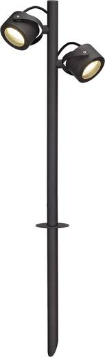 Außenstandleuchte Energiesparlampe GX53 9 W SLV SITRA 360 231535 Anthrazit