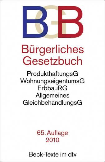 BGB Bürgerliches Gesetzbuch/9783423050012