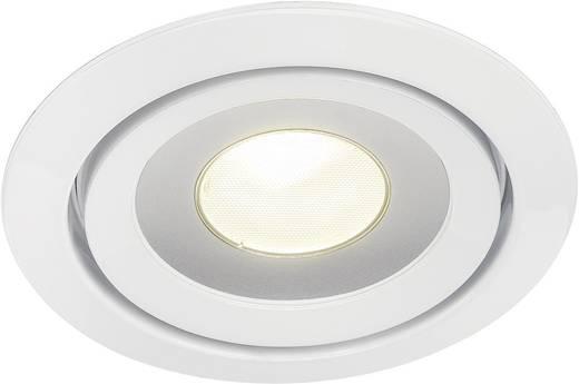 SLV Luzo 115801 LED-Einbauleuchte 14.5 W Warm-Weiß Weiß