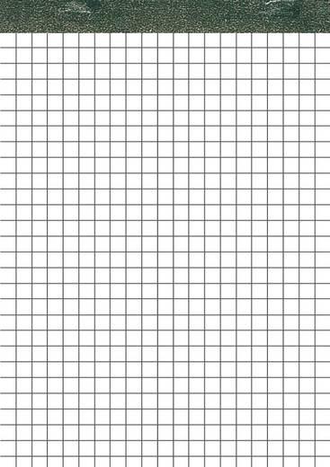5 Star Notizblock ohne Deckblatt h/frei DIN A6 weiss kariert 70 g. Inh.50