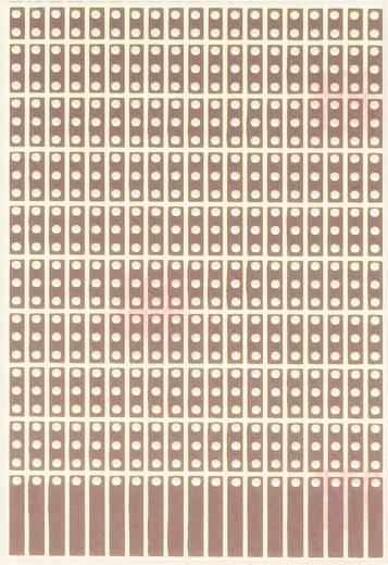WR Rademacher WR-Typ 908-1 Experimentierplatine Epoxyd (L x B) 80 mm x 50 mm 35 µm Rastermaß 2.54 mm Inhalt 1 St.