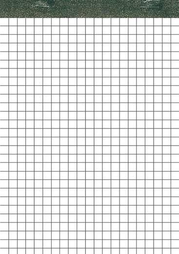 5 Star Notizblock ohne Deckblatt h/frei DIN A5 weiss kariert 70 g. Inh.50