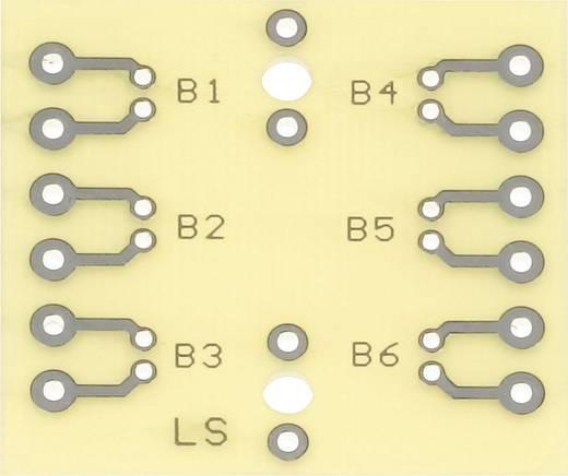 Prüfungsplatine nach IHK-Richtlinie Epoxyd (L x B) 40 mm x 37 mm 35 µm WR Rademacher WR-Typ 925 Inhalt 1 St.