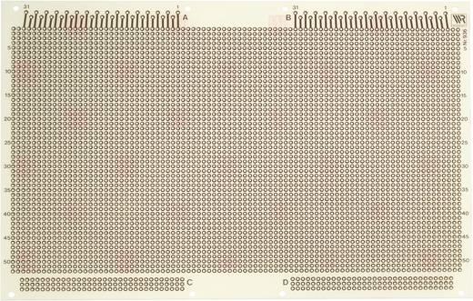 Experimentierplatine Epoxyd (L x B) 233.4 mm x 160 mm 35 µm WR Rademacher WR-Typ 936 Inhalt 1 St.