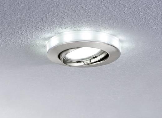 Paulmann Einbauleuchten mit Sternenhimmel 98886 Eisen (gebürstet) Tageslicht-Weiß