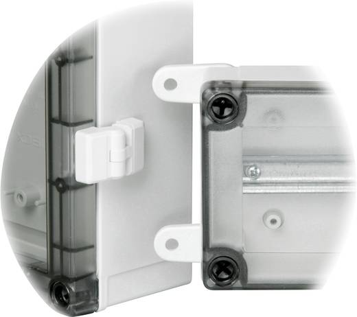 Wandhalterung Polyamid Licht-Grau Fibox FP 22046 4 St.
