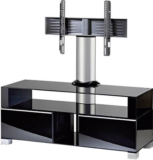 vcm tv m bel ravenna 120 front schwarzlack korpus schwarzlack inkl rollen mit led lcd. Black Bedroom Furniture Sets. Home Design Ideas