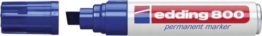 Permanent-Marker Edding 800 Blau Keilform 4 - 12 mm 1 St.