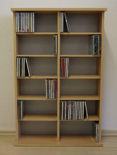 """VCM CD/DVD-Turm """"Ronul"""" Buche"""