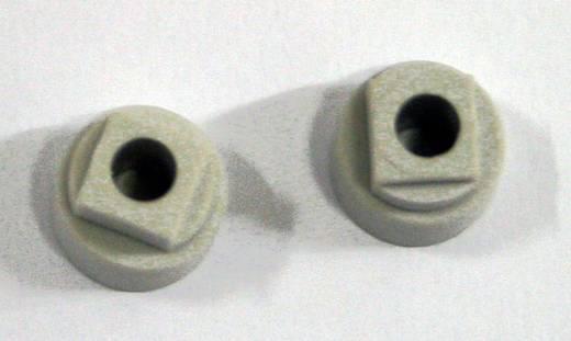 Blindstopfen Polycarbonat Licht-Grau Fibox MB 14560 2 St.
