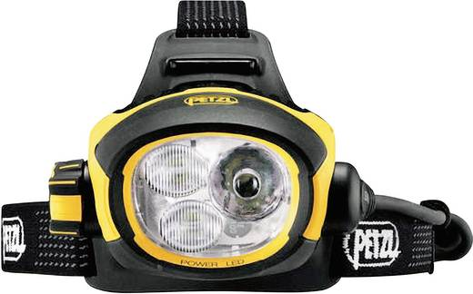 LED Stirnlampe Petzl Ultra Vario akkubetrieben 375 g Gelb-Schwarz E54H