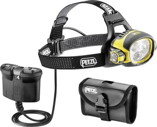 LED Stirnlampe Petzl Ultra Vario Belt akkubetrieben 450 lm 62 h E54B