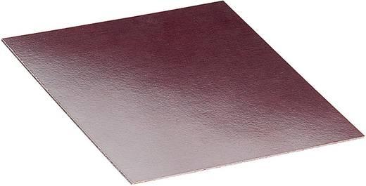 Montageplatte (L x B x H) 100 x 100 x 2 mm Hartpapier Braun Proma 1 St.