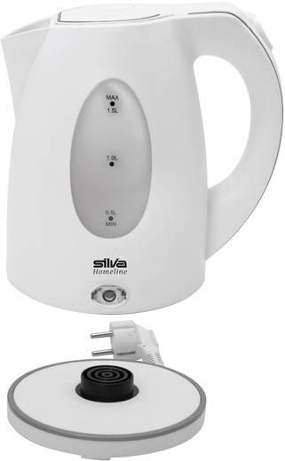 Wasserkocher schnurlos Silva Homeline KL 1020 Weiß
