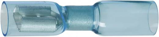Flachsteckhülse mit Schrumpfschlauch Steckbreite: 6.3 mm Steckdicke: 0.8 mm 180 ° Vollisoliert Blau DSG Canusa 793420050