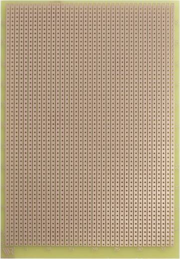 Experimentierplatine Epoxyd (L x B) 160 mm x 100 mm 35 µm Rastermaß 2.54 mm WR Rademacher WR-Typ 732 Inhalt 1 St.