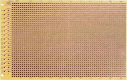 Prüfungsplatine nach IHK-Richtlinie Hartpapier (L x B) 160 mm x 100 mm 35 µm Rastermaß 2.54 mm WR Rademacher WR-Typ 914