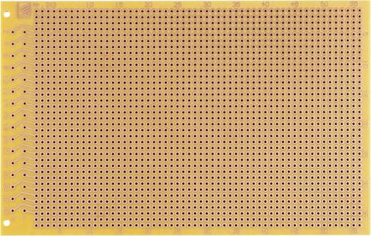 Prüfungsplatine Hartpapier (L x B) 160 mm x 100 mm 35 µm Rastermaß 2.54 mm WR Rademacher WR-Typ 913 Inhalt 1 St.