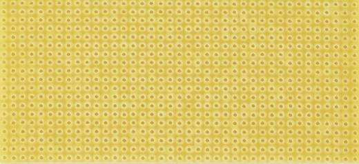 Platine ohne Cu-Auflage Hartpapier (L x B) 200 mm x 100 mm Rastermaß 2.54 mm WR Rademacher WR-Typ 712-6 Inhalt 1 St.
