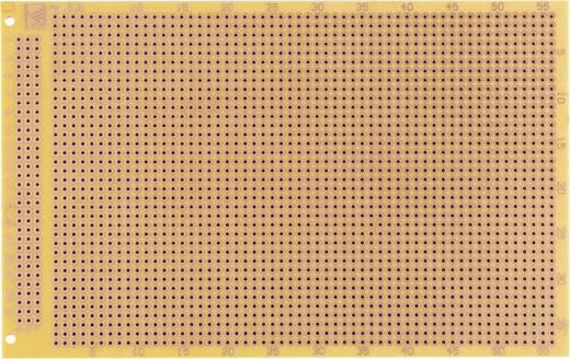 Prüfungsplatine nach IHK-Richtlinie Hartpapier (L x B) 100 mm x 160 mm 35 µm Rastermaß 2.54 mm WR Rademacher WR-Typ 931