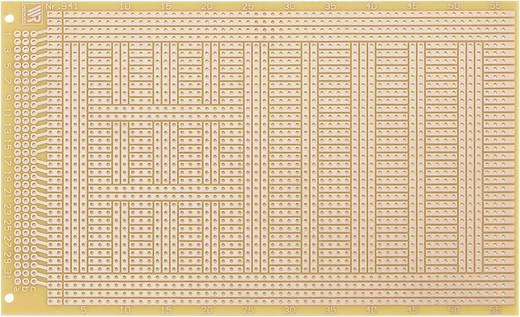 Europlatine Epoxyd (L x B) 160 mm x 100 mm 35 µm Rastermaß 2.54 mm WR Rademacher WR-Typ 941 Inhalt 1 St.