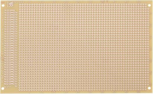 Prüfungsplatine nach IHK-Richtlinie Hartpapier (L x B) 160 mm x 100 mm 35 µm Rastermaß 2.54 mm WR Rademacher WR-Typ 933 Inhalt 1 St.