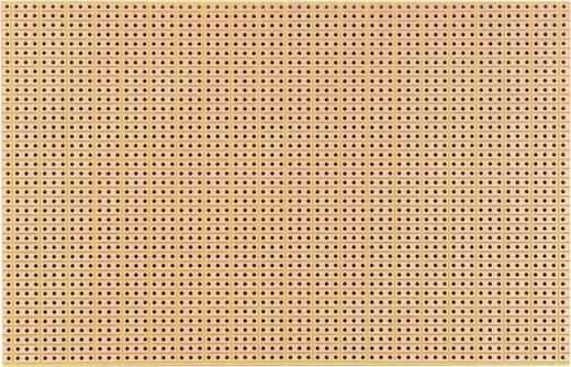 Platine Hartpapier (L x B) 160 mm x 100 mm 35 µm Rastermaß 2.54 mm WR Rademacher WR-type 790-5 Inhalt 1 St.