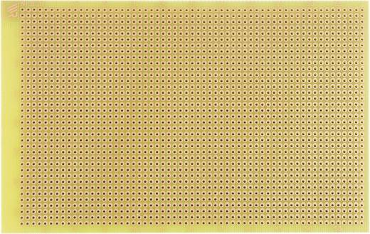 Experimentierplatine Epoxyd (L x B) 160 mm x 100 mm 35 µm Rastermaß 2.54 mm WR Rademacher WR-Typ 830-EP Inhalt 1 St.