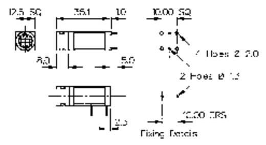 Sicherungshalter Passend für Feinsicherung 5 x 20 mm 10 A 250 V/AC Bulgin FX0457 1 St.