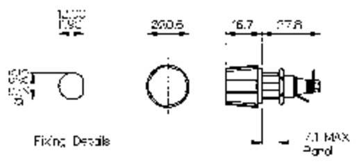 Sicherungshalter Passend für Feinsicherung 5 x 20 mm 6.3 A 250 V/AC Bulgin Sicherungshalter 1 St.