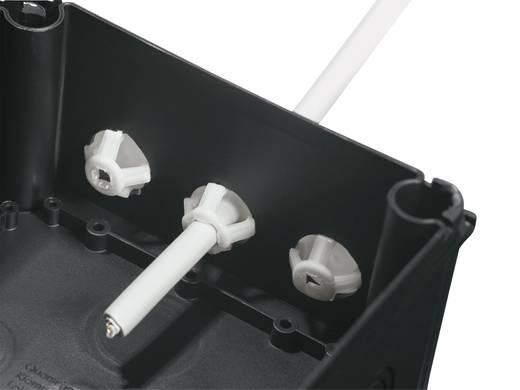 Kabeldurchführung Klemm-Ø (max.) 13 mm Polyamid, TPE (Geruchneutrales Spezialgummigemisch) Schwarz (RAL 9005) Wiska Cl