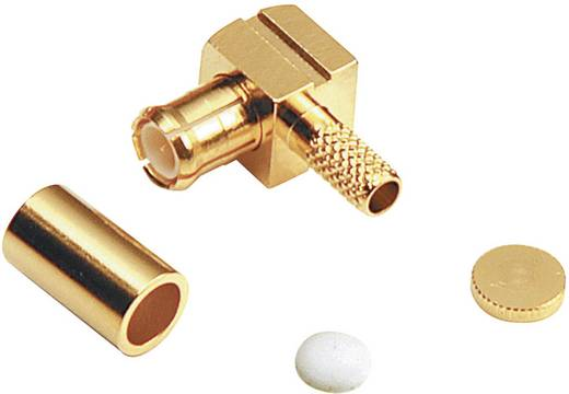 MCX-Steckverbinder Stecker, gewinkelt 50 Ω BKL Electronic 416006 1 St.