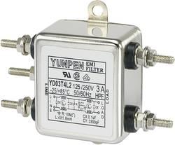 Filtre antiparasite Yunpen YD03T4L2 250 V/AC 3 A 1.8 mH (L x l x h) 50 x 85.3 x 28.5 mm 1 pc(s)