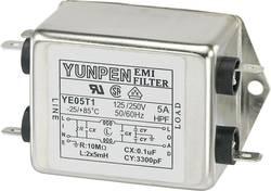 Filtre antiparasite Yunpen 530093 250 V/AC 5 A 5 mH (L x l x h) 75 x 51 x 37 mm 1 pc(s)
