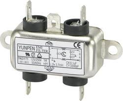 Filtre antiparasite Yunpen 530105 250 V/AC 1 A 3.7 mH (L x l x h) 44 x 48.7 x 18 mm 1 pc(s)