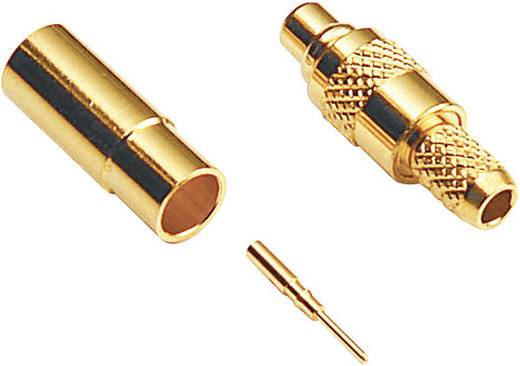 MMCX-Steckverbinder Buchse, gerade 50 Ω BKL Electronic 416602 1 St.