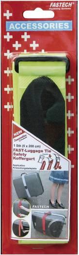 Klett-Kofferband mit Gurt Haft- und Flauschteil (L x B) 2000 mm x 50 mm Gelb Fastech 922-0309 1 St.