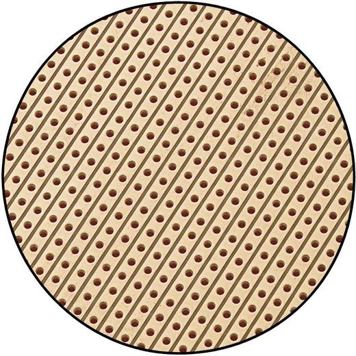 Conrad Components SU527453 Europlatine Hartpapier (L x B) 160 mm x 100 mm 35 µm Rastermaß 2.54 mm Inhalt 1 St.