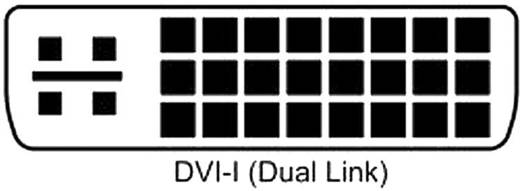 DVI-Steckverbinder Stecker, gerade Polzahl: 25 Silber BKL Electronic 908000 1 St.