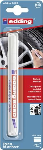 Reifenmarker Edding 4-8050-1-4049 Weiß Rundform 2 - 4 mm 1 St.