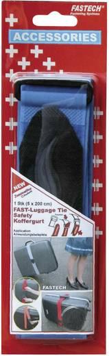 Klett-Kofferband mit Gurt Haft- und Flauschteil (L x B) 2000 mm x 50 mm Blau Fastech 922-0426 1 St.