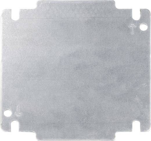 Montageplatte (L x B) 131 mm x 131 mm Stahlblech Metall Schroff INLINE 32405-024 1 St.