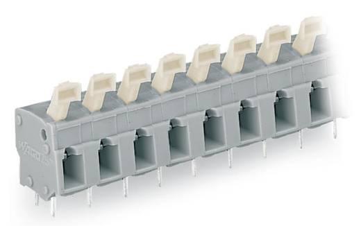 Federkraftklemmblock 2.50 mm² Polzahl 4 257-504 WAGO Grau 140 St.
