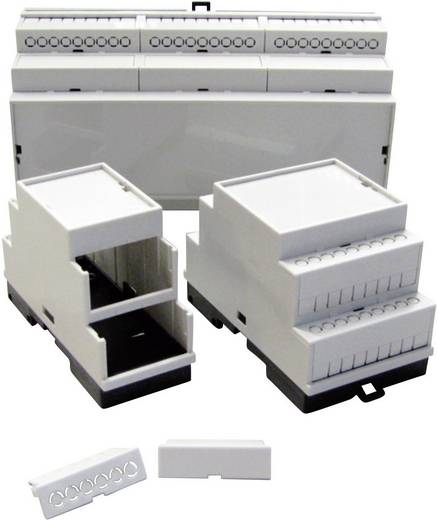 Hutschienen-Gehäuse 35 x 86 x 60 Kunststoff Grau (RAL 7035) P/N 5200100035 1 St.