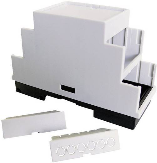 Hutschienen-Gehäuse 105 x 86 x 60 Kunststoff Grau (RAL 7035) P/N 5200100105 1 St.