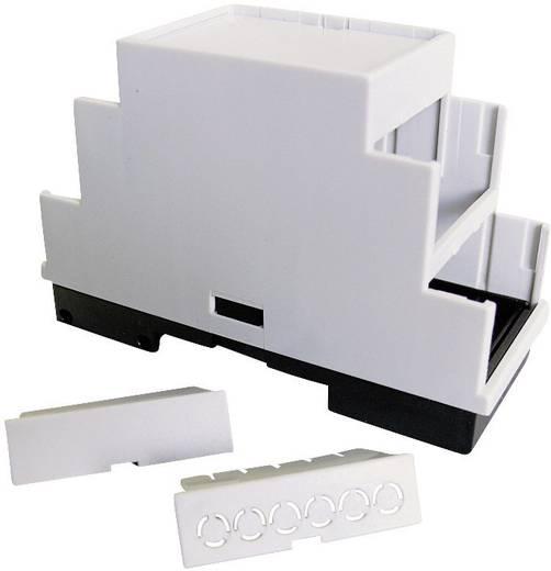 Hutschienen-Gehäuse 157 x 86 x 60 Kunststoff Grau (RAL 7035) P/N 5200100157 1 St.
