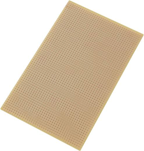 Europlatine Hartpapier (L x B) 160 mm x 100 mm 35 µm Rastermaß 2.54 mm Conrad Components SU527769 Inhalt 1 St.
