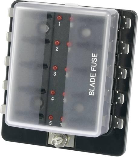 KFZ-Sicherungshalter mit Statusanzeige Passend für Flachsicherung Standard 30 A 32 V/DC SCI R3-76-01-3L110 1 St.